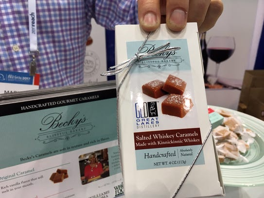 A Wisconsin candy maker and distillery have combined