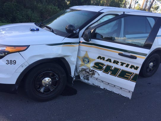 Two deputies were taken to an area hospital Oct. 11,