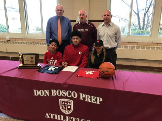 Ronald Harper Jr. signs with Rutgers on National Signing