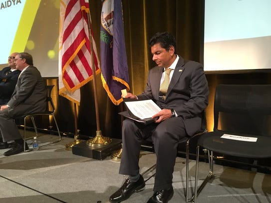 Dr. Ashish Vaidya, the new president of Northern Kentucky