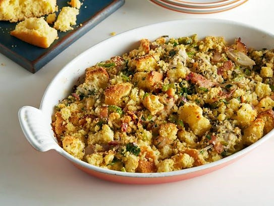 Fresh Fit Food's apple and sausage gluten-free stuffing.