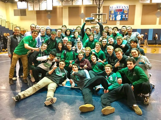 Pascack Valley is the North 1, Group 3 wrestling champion.