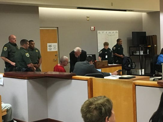William Woodward was in court for his sentencing hearing