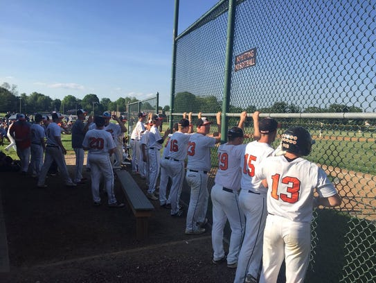 The Palmyra bench was looking for a rally in the bottom