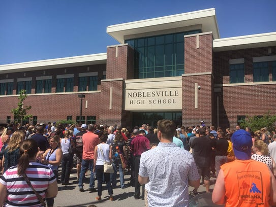 Students are starting to be released from the high