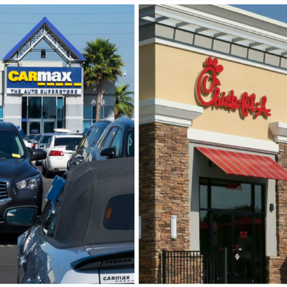 CarMax, Chick-fil-A and Pieology among businesses on track to open in new Palm Desert commercial center