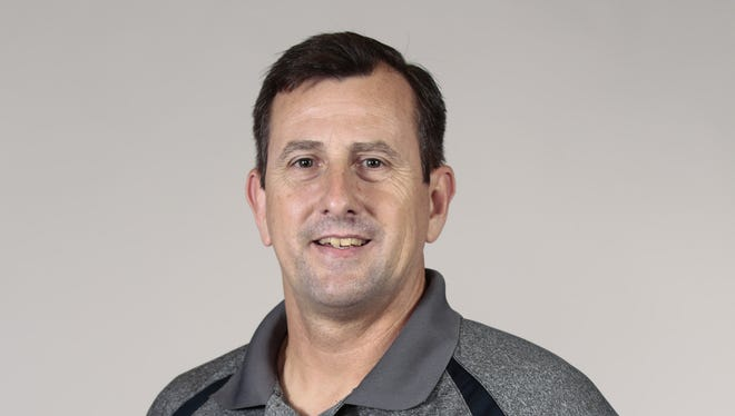 All-Acadiana Wrestling Coach of the Year Keith Bergeron of Comeaux High.