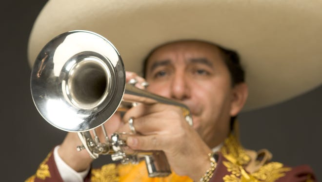 Mariachis are a big part of Cinco de Mayo events this weekend and next Tuesday.