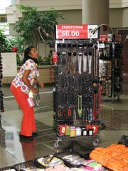 The HCI sales offer a variety of merchandise, with nearly everything priced at $6.