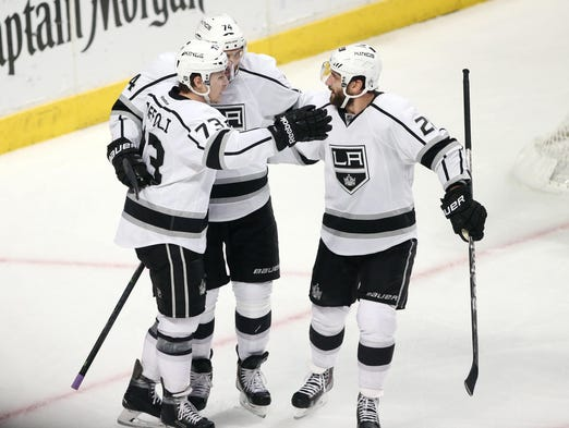 Game 7: The Los Angeles Kings defeated the Chicago Blackhawks 5-4 in overtime to advance to the Stanley Cup Finals against the New York Rangers. The Kings last won the Stanley Cup in 2012.