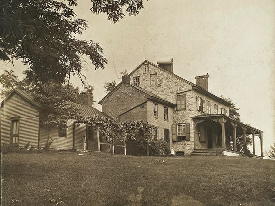 This mansion in Hellam Township was once part of the Underground Railroad.