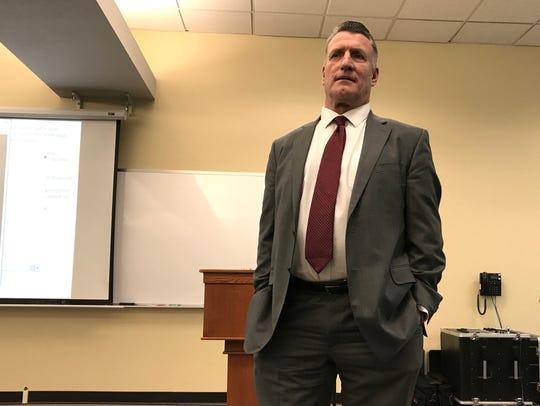 Randolf Grounds speaks Saturday at Simpson University