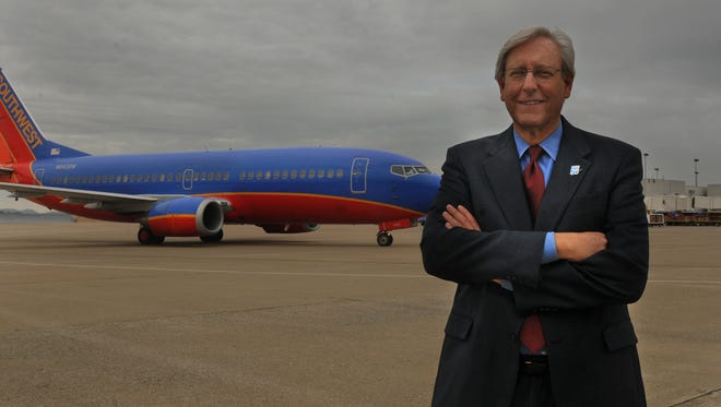 Rob Wigington is the president and CEO of the Metropolitan Nashville Airport Authority, which is over the operation of Nashville International and John C. Tune airports.