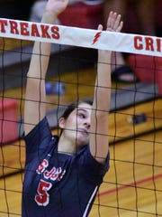 SJCC's Brooke Casperson passed 1,000 assists for her career this week.