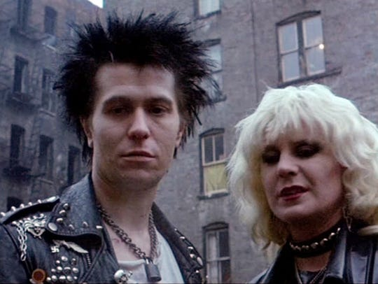 He's a chameleon: Gary Oldman plays Sid Vicious in