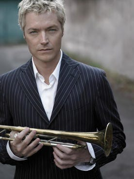 It's not surprising that Chris Botti's playing could move an NFL player to tears