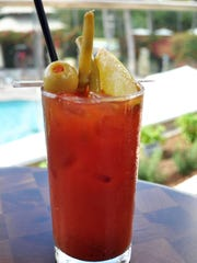 The Bloody Maria at Naples Grande is made with jalapeno-infused
