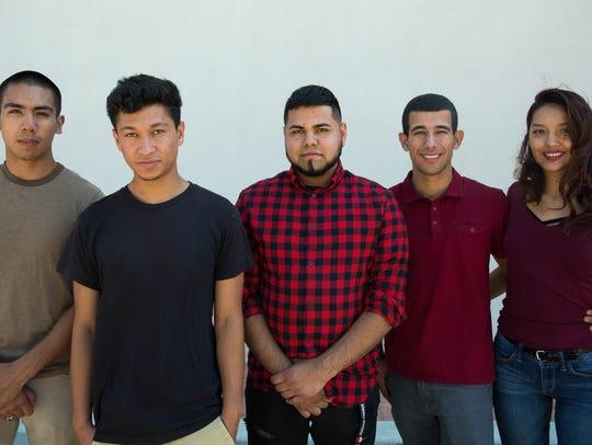 Carlos Corral,18, Brandon,20, Irvin,20 Jefferson Taborda,23