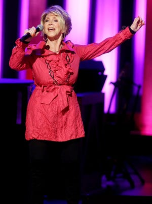 Jeannie Seely performs at the Grand Ole Opry's Opry goes pink show at the Opry House Oct. 25, 2016.