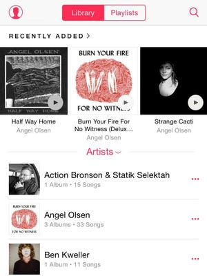 A friend recently recommended Angel Olsen to me. I was happy to find her albums on Apple Music, along with a bunch of Charlie Parr. (Minnesota, represent.)
