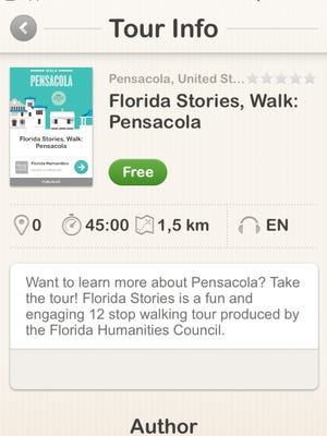 Florida Stories is a new walking-tour mobile app from the University of West Florida Historic Trust.