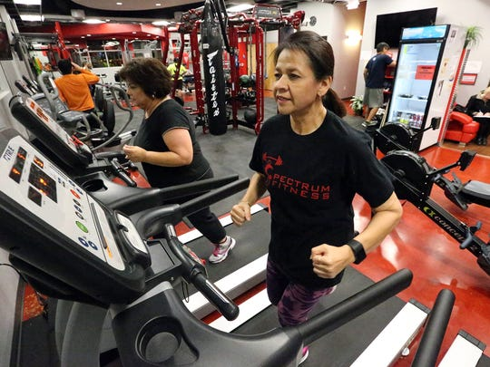 """Melissa Ontiveros-Chavez started working out to get healthy. She is now training for a half marathon. """"It's a life-changing experience, but anybody who puts their mind to it and their heart into it can do it. It can be done."""""""