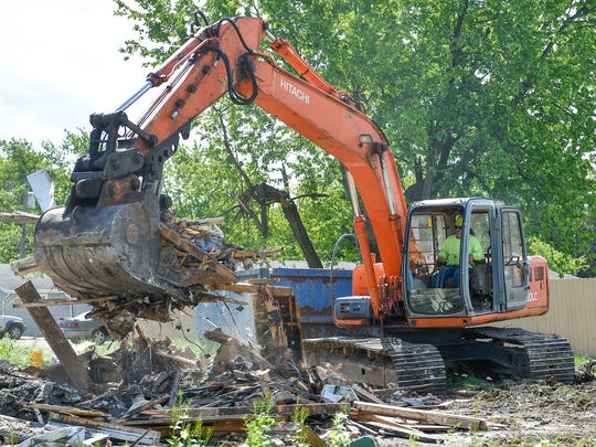 The Marion County land bank has used grant money to remove several blighted properties, but a permanent revenue stream is needed to ensure its good work continues.