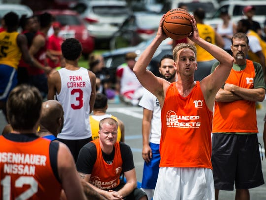 Ex-Lebanon High star Mike Bechtold looks for an open