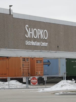 Shopko Stores Operating Co.'s distribution center at 1717 Lawrence Drive in De Pere.