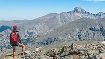 Xplore reporter Stephen Meyers led a hiking series that concluded with a summit of Longs Peak.