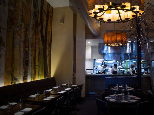 Fork offers a sophisticated dining experience in Philadelphia.