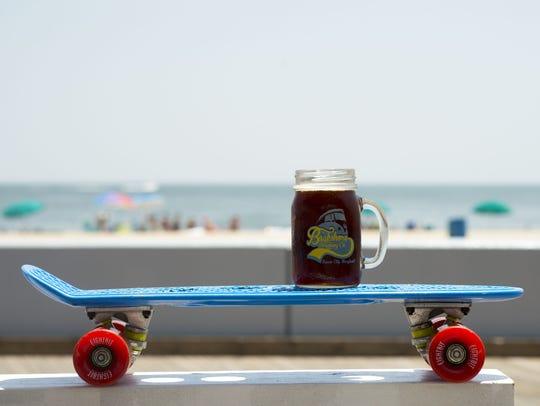 "Backshore Brewing Company's ""Alpha-Lima-Echo"" amber"