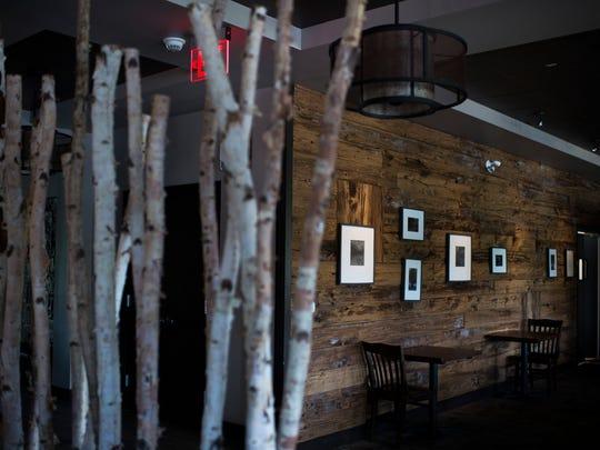 The dining room inside Cooper House in Pennsauken.
