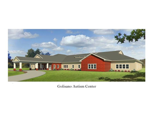 A rendering of the Golisano Autism Center Rochester,
