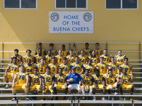 The 2017 Buena Chiefs.