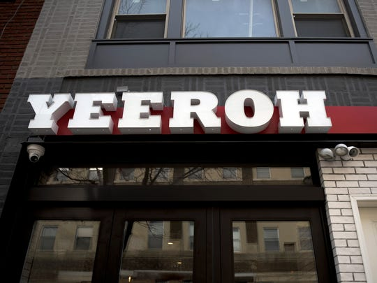 The storefront of Yeeroh in Philadelphia.