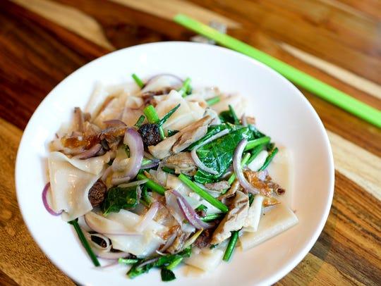 A fen noodle dish from Danlu in Philadelphia.