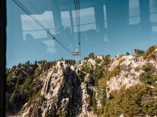 A view of the San Jacinto Wilderness from Palm Springs Aerial Tramway