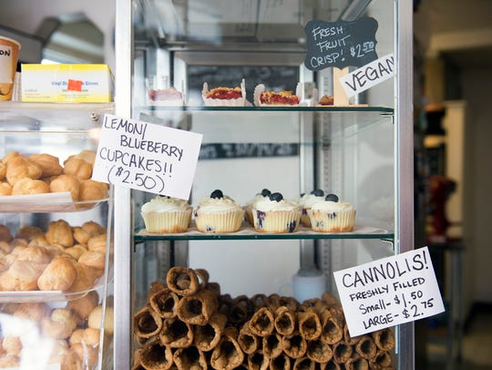 Chloe's Créme Puffs in Pitman, also sells cupcakes, cannoli and fruit crisps. Many of their treats come from family recipes.
