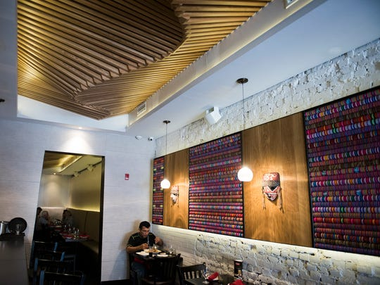 The interior of Vista Peru in Philadelphia. The space was formerly occupied for years by Serrano's and Tin Angel.