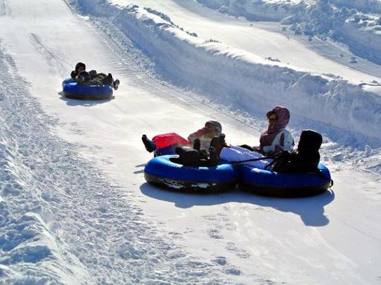 """We have the Cadillac version of snow-tubing,"" says Doug Miller, who owns and runs the Doug Miller Family Sports Park."