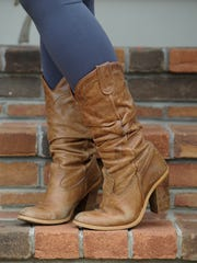 "Tila Phillips' brown cowboy boots from Nordstrom are ""more than 10 years old and still my fave."""