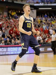 Moritz Wagner has led Michigan to back-to-back Big