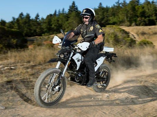 zero electrict motorcycle 2