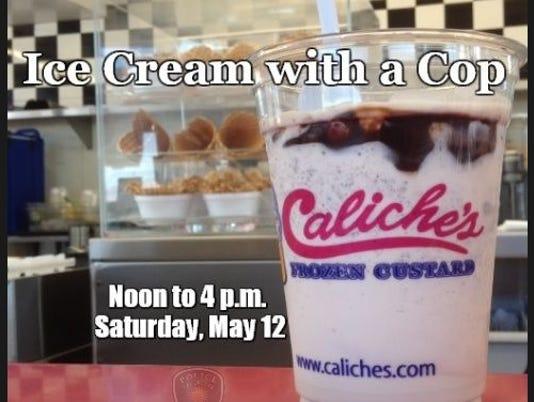 Ice cream with cop
