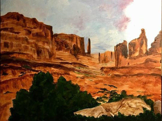 Bonnie Soley will show her work at her studio during the tour. Her paintings depict and illustrate all that is New Mexico landscapes.