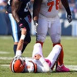 Bengals look to get after Browns' battered front