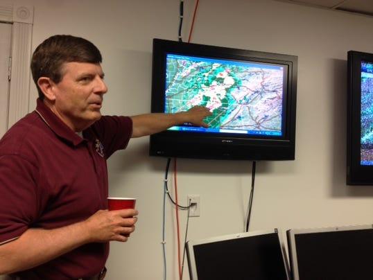 Bedford County EMA Director Scott Johnson
