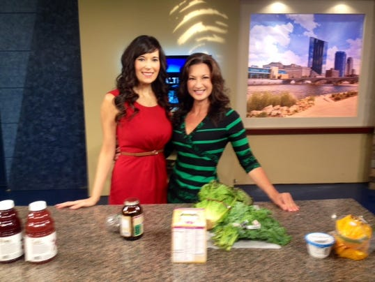 FitKim with Val Lego on WZZM 13: Healthy Snacks for Kids