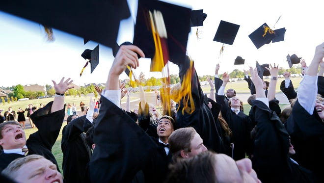 Many churches are honoring their graduates this week with lunches and receptions.